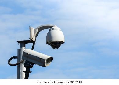 Security CCTV camera for transportation