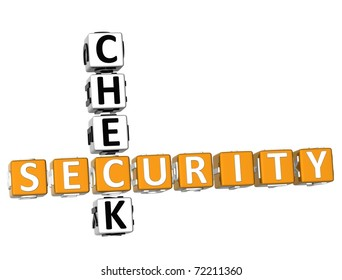 Security Check Crossword