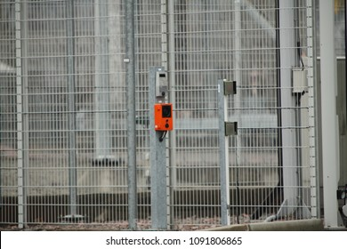 security perimeter in chernobyl nuclear power plant