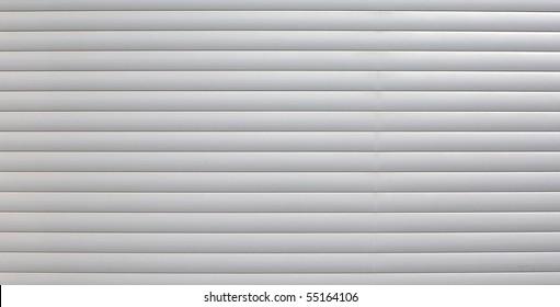security roller door background - corrugated metal sheet