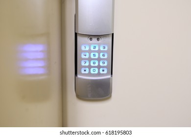 Security system doorlock