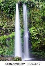 Sedang Gile Waterfall near Rinjani Mountain, Senaru, Lombok, Indonesia