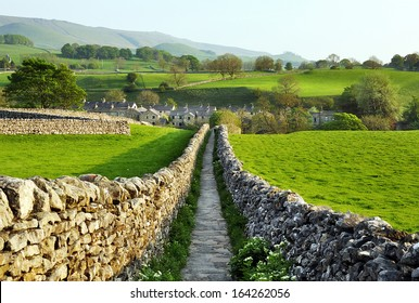 Sedber lane, Grassington, Wharfedale, Yorkshire Dales National Park,
