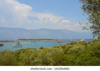 Sedir Island Akyaka Gokova Mugla Boat Tour