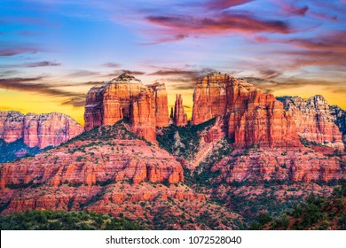 Sedona, Arizona, USA at Red Rock State Park.