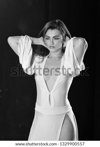 e2776d716 Seductive Beauty Pretty Woman Sexy Makeup Stock Photo (Edit Now ...