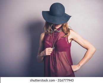 Girls Wearing See Through Shirt