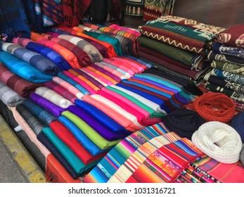 See at the Atavalo market, Ecuador, around 60 km from Quito