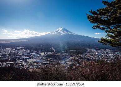 See Mt Fuji at the lake kawaguchiko and Mt.fuji Panoramic ropeway, Japan, Tokyo