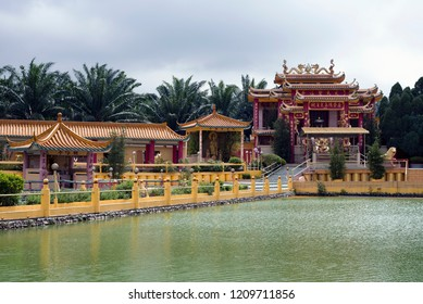 Seen Hock Yeen, Confucius Temple, Chemor, Malaysia. Confucius Temple of Seen Hock Yeen is well-known for bringing luck to students who are going to sit for exams.