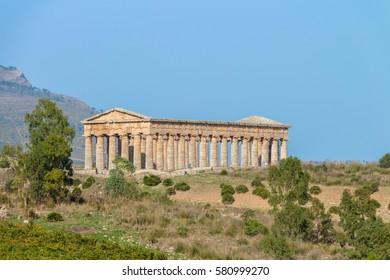 Segesta Temple Sicily Italy