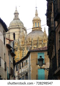 Segovia Cathedral is the Gothic-style Roman Catholic church in Spain
