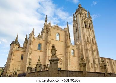 Segovia - The Cathedral Nuestra Senora de la Asuncion y de San Frutos de Segovia