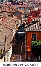 Segovia, Spain - March 16, 2017 - Segovia, a city in the autonomous region of Castile and León and the capital of Segovia Province