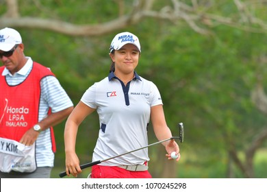 Sei Young Kim of Republic of Korea in Honda LPGA Thailand 2018 at Siam Country Club, Old Course on February 25, 2018 in Pattaya Chonburi, Thailand.