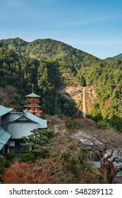 Seigantoji Pagoda and Nachi Falls,  Nachikatsuura, Wakayama Prefecture, Japan