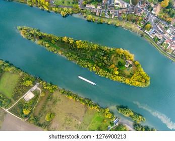 Seine river, Les Andelys, Normandy, France