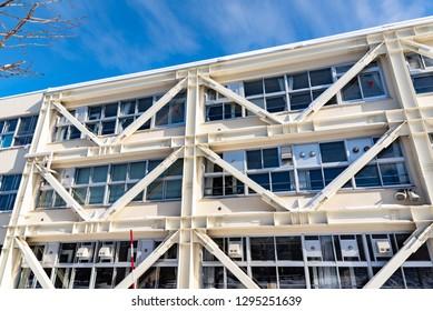 Seismic reinforced buildings