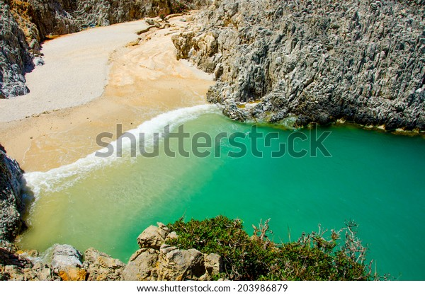 Seitan Limania Beach - Beautiful isolated Bay in the southern of crete, close to chania - Greece