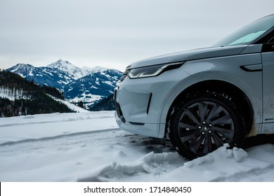 Seitenwald, Austria, 5 March 2020. Land Rover Discovery Sport, Test Drive Trip