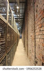 seka paper mill-paper museum. factory interior view  Kocaeli-Turkey 14,10,2020