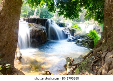 Sekio Waterfall National Park is located in the Pakchong District, Nakhon Ratchasima Province and Muak Lek District, Wang Muang District, Saraburi Province.