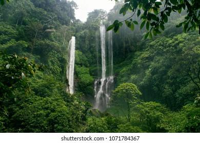 Sekumpul Waterfall. Bali