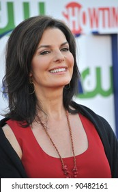 Sela Ward, star of CSI: NY, at the CBS Summer 2011 TCA Party at The Pagoda, Beverly Hills. August 3, 2011  Los Angeles, CA Picture: Paul Smith / Featureflash