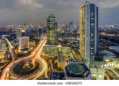 Selamat Datang Monument, also known as the Monumen Bundaran HI, is a monument located in Central Jakarta, Indonesia. Completed in 1962, It is one of the historic landmarks of Jakarta
