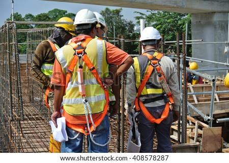Selangor Malaysia February 13 2015 Construction Stock