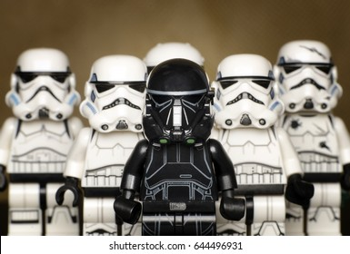 selangor malaysia, may 21, 2017. lego starwars clone troopers army.Lego minifigures are manufactured by The Lego Group.