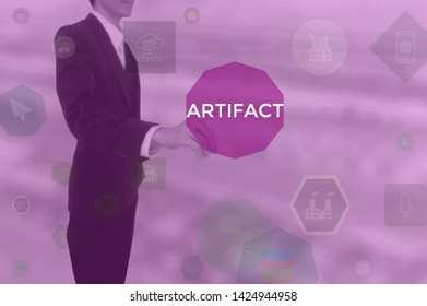 select ARTIFACT - technology and business concept