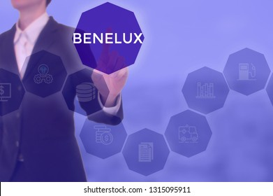 select BENELUX - technology and business concept