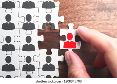 Selecting person for the job. Creating successful organization.