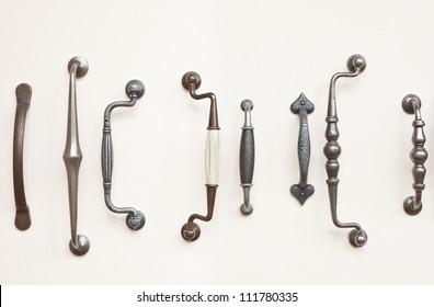 door handles.  Handles A Selection Of Antique Wrought Iron Door Handles For Door Handles