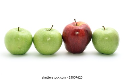 selection of apples