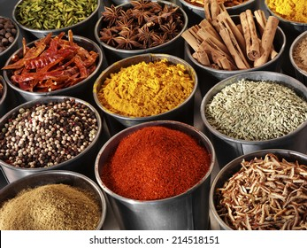 SELECTION OF ASIAN SPICES