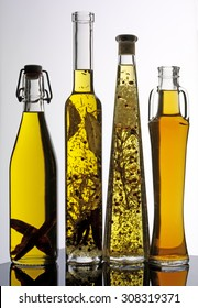 SELECTION OF COOKING OILS