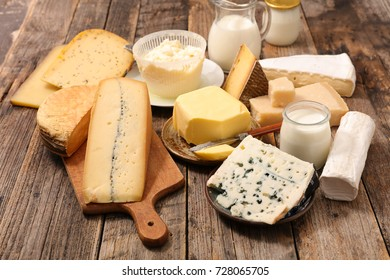 selection of dairy product