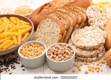 selection of food gluten free