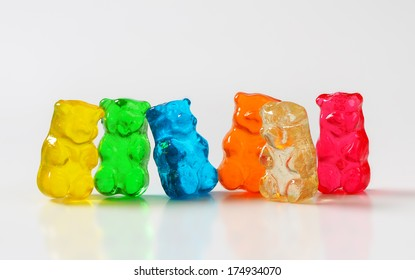 Selection of gummy bears