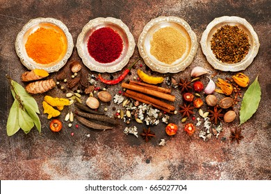 Selection Indian Spices
