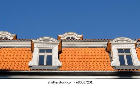A selection of interesting decorative building facade