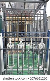a selection iron lattice