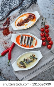 selection of meze dishes