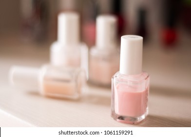 Selection of nude nail polishes, favorite nude nail polishes of all time