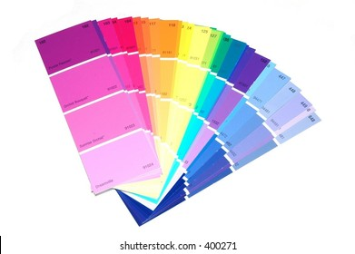 Selection of paint chips
