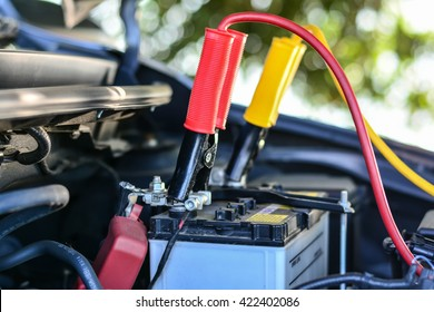 Selective focus charging car with electricity trough cables