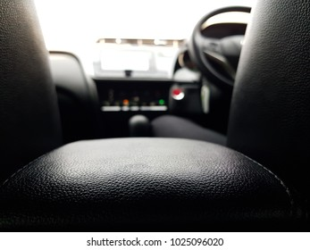 Selective focus for interior of a car