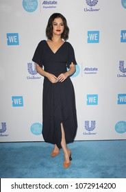 Selena Gomez at the 2018 WE Day California held at the Forum in Inglewood, USA on April 19, 2018.